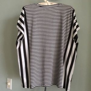 MICHAEL Michael Kors Tops - MICHAEL MICHAEL KORS OVERSIZED STRIPED TEE